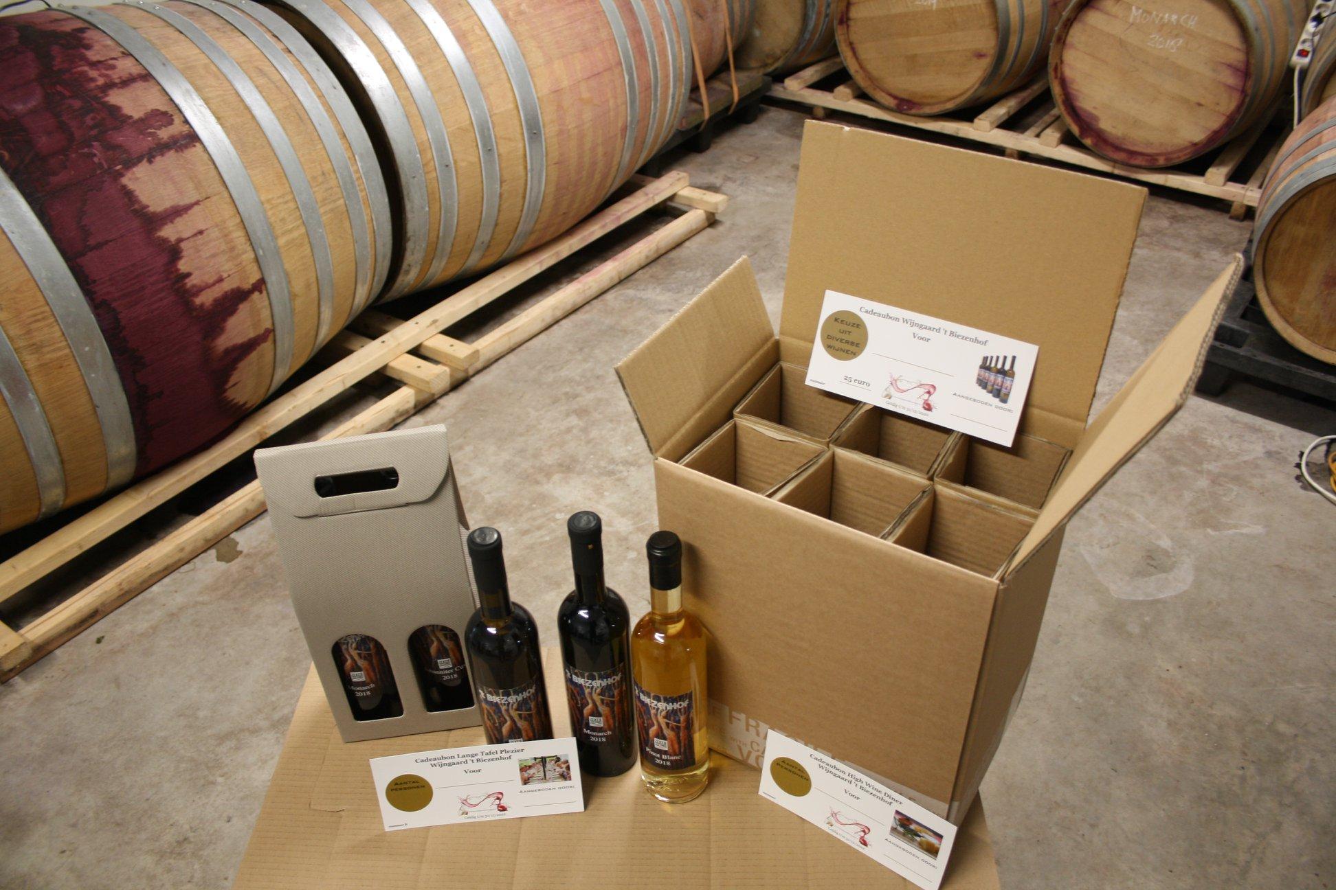 Alle wijnen ook online te koop
